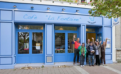 Pause café La Fontaine