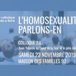 Colloque l'homosexualité, parlons-en