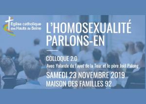 Colloque «L'homosexualité, parlons-en »