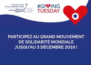 Giving Tuesday : le grand élan de solidarité !