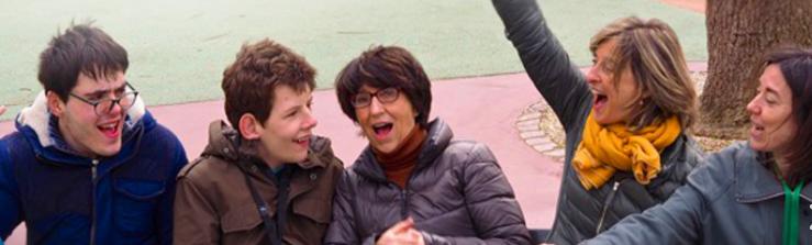 La Fondation avec les jeunes autistes